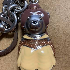 Coach Belle Bear Key Chain
